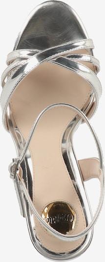 BUFFALO Sandały z rzemykami w kolorze srebrnym oU9F8Y98