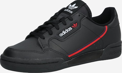 ADIDAS ORIGINALS Tenisky 'Continental 80' - červené / čierna, Produkt