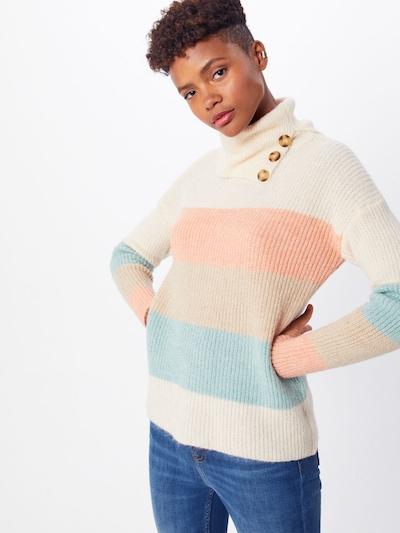 ONLY Pulover   svetlo modra / puder / svetlo roza / bela barva: Frontalni pogled