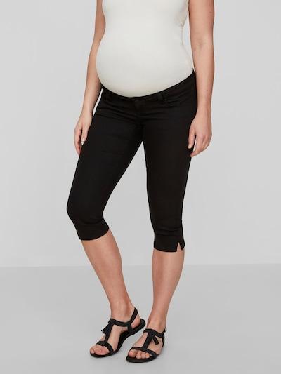 MAMALICIOUS Jeans in schwarz, Modelansicht