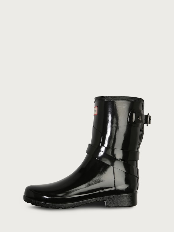 Hunter Rubber Boots In Paint-optics