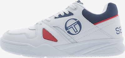 Sergio Tacchini Tennisschuh 'Top CLS LTH' in blau / rot / weiß, Produktansicht