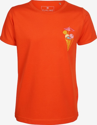 ELKLINE T-Shirt in orange, Produktansicht