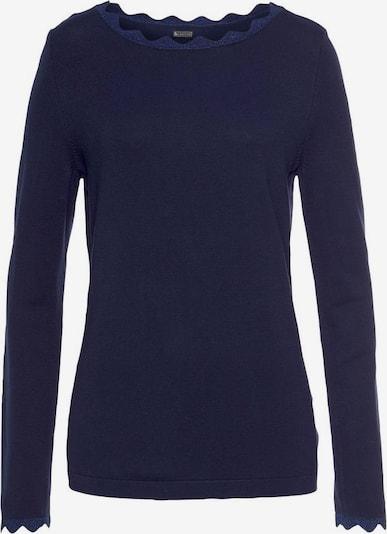 LAURA SCOTT Pullover in marine, Produktansicht