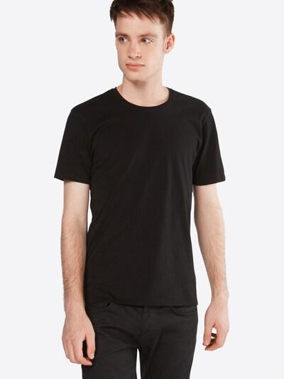 DRYKORN T-Shirt 'CARLO' in schwarz: Frontalansicht