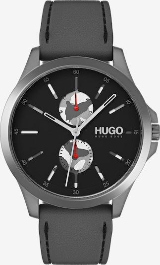 HUGO Uhr 'Jump' in dunkelgrau, Produktansicht