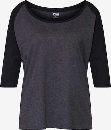 Urban Classics T-shirt i grå