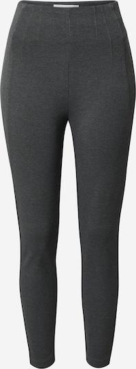 VILA Leggings en gris foncé, Vue avec produit