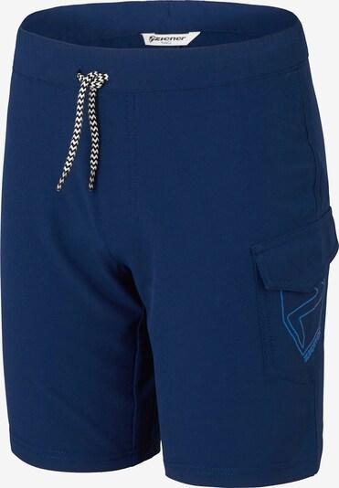 ZIENER Shorts 'Nisaki' in dunkelblau, Produktansicht