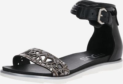 MJUS Sandalen 'KATANA' in schwarz, Produktansicht
