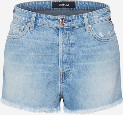 REPLAY Shorts in blue denim, Produktansicht
