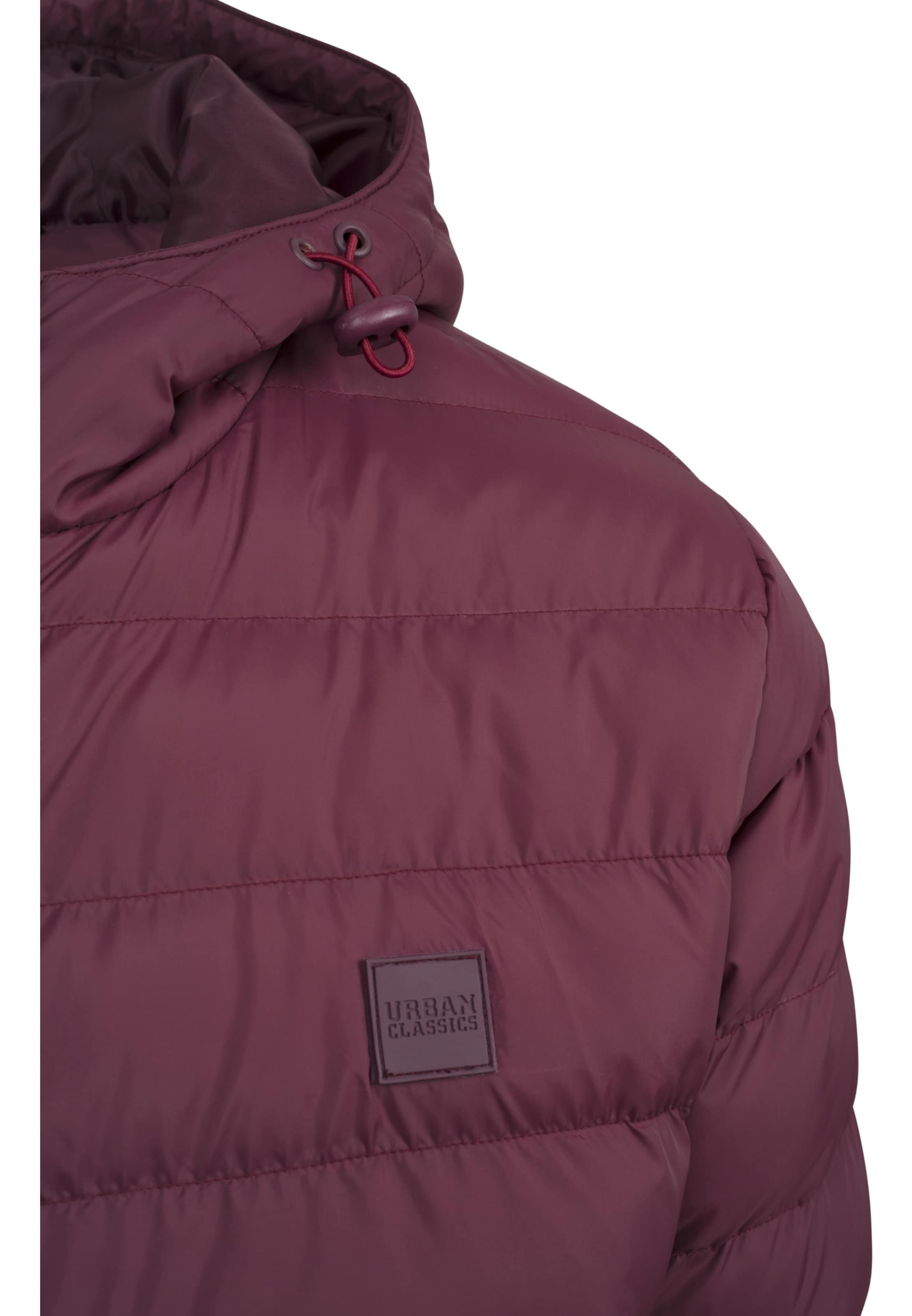 'basic Classics In Burgunder Urban Jacket Bubble' 5qAL3R4j