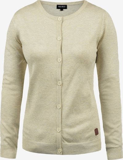 Desires Strickjacke in beige: Frontalansicht