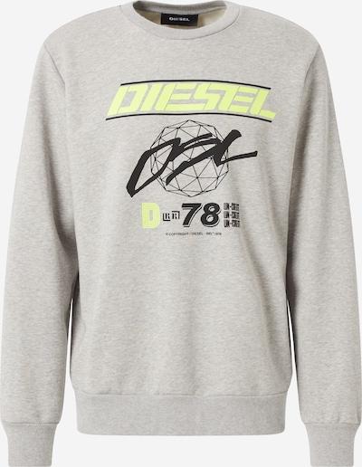DIESEL Sweater majica u siva / miks boja, Pregled proizvoda