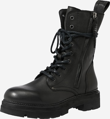 REPLAY Lace-Up Ankle Boots 'Pamela' in Black