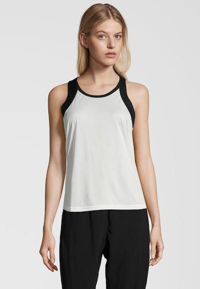 Athlecia Tanktop 'Levinda' in schwarz / weiß, Produktansicht