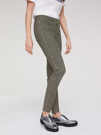 heine Jeans in oliv: Frontalansicht