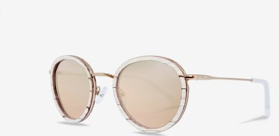 Kerbholz Sonnenbrille 'Berthold' in beige / rosegold, Produktansicht