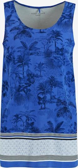 GERRY WEBER Top in blau / schwarz / weiß, Produktansicht