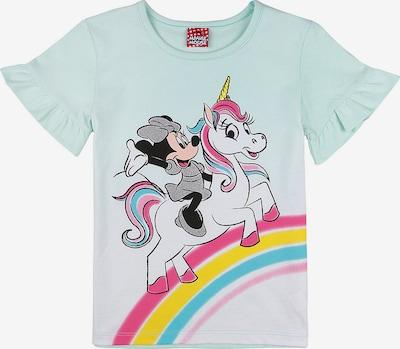 DISNEY T-Shirt 'Minnie Mouse' in pastellgrün / mischfarben, Produktansicht