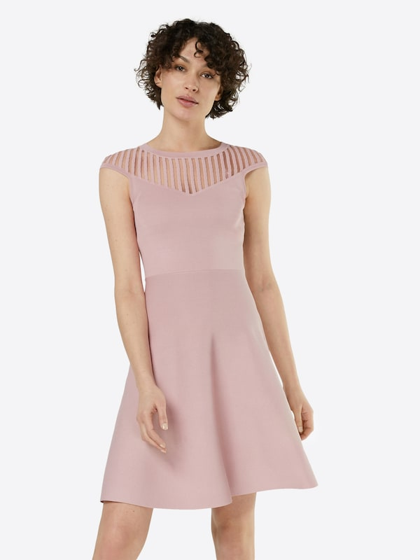 french connection kleid 39 rose crepe knit 39 in pink about you. Black Bedroom Furniture Sets. Home Design Ideas