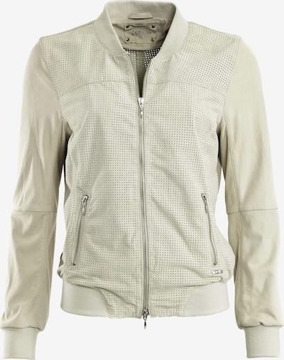 Maze Lederblouson ' Campinas ' in weiß, Produktansicht