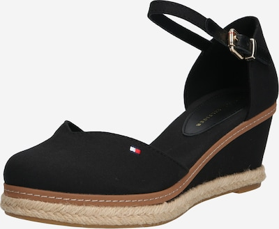 TOMMY HILFIGER Strap sandal 'Elba' in Black, Item view
