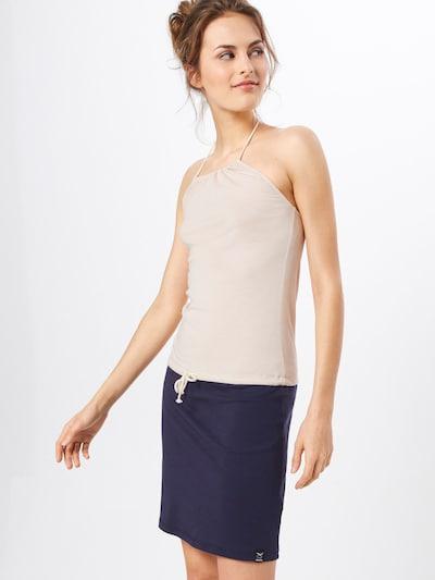 Iriedaily Kleid in beige / navy, Modelansicht