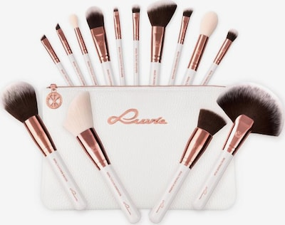 Luvia Cosmetics 'Essential Brushes - Feather White' Veganes Make-Up Pinselset mit Pinseltasche in mischfarben, Produktansicht