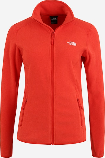 THE NORTH FACE Funktionsjacke 'Glacier' in rot, Produktansicht