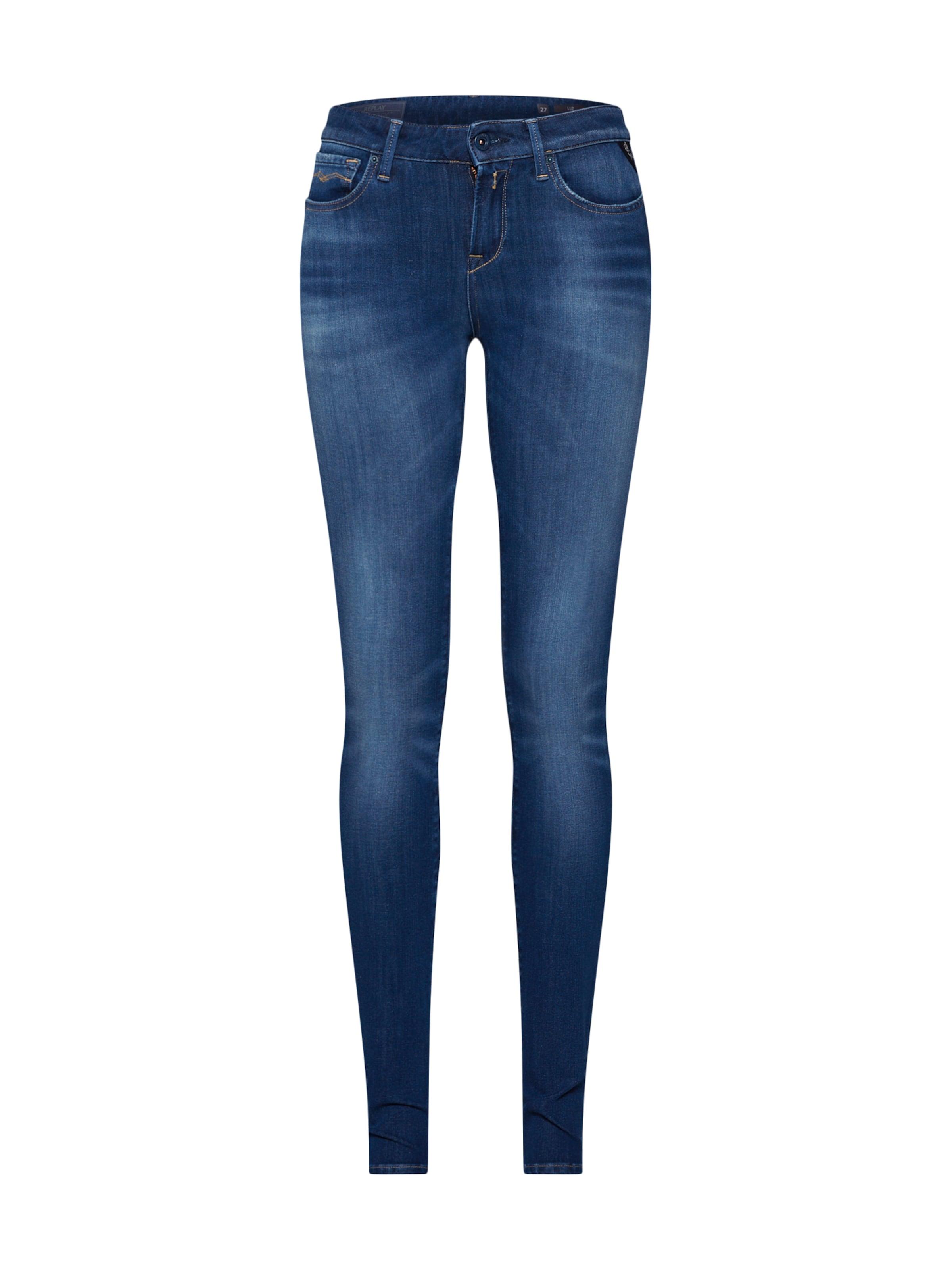 'luz' Jeans Replay Denim In Blue NOX8nw0Pk