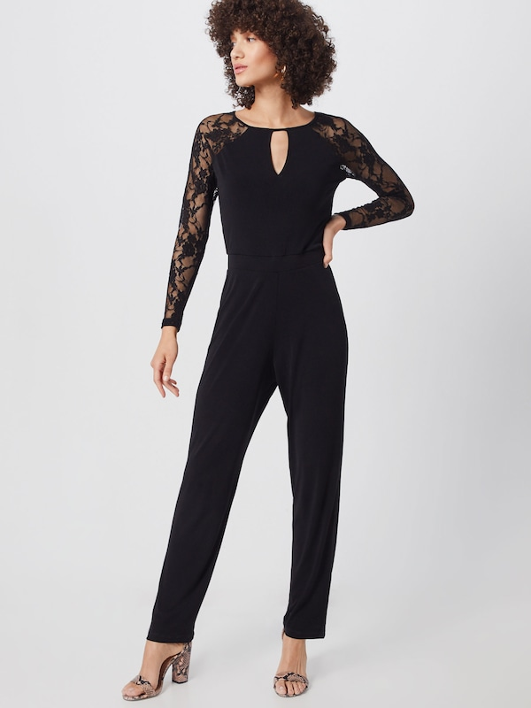 ABOUT YOU Jumpsuit 'Svenja' in schwarz, Modelansicht