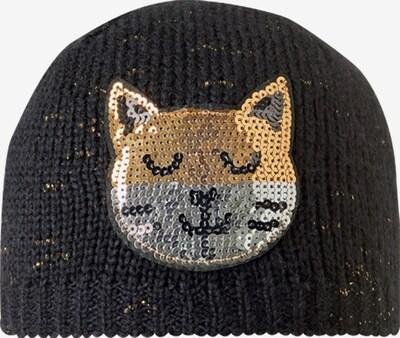 STÖHR Mütze 'CAT' in schwarz, Produktansicht