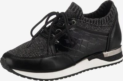 JANE KLAIN Sneaker in schwarz / silber, Produktansicht