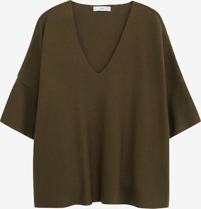 MANGO Pullover 'INES' in khaki, Produktansicht