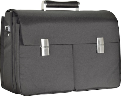 Porsche Design Roadster 3.0 Brief Bag FM Aktentasche 42 cm Laptopfach in schwarz, Produktansicht