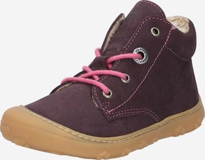 Pepino Chaussure basse 'CORANY' en prune, Vue avec produit