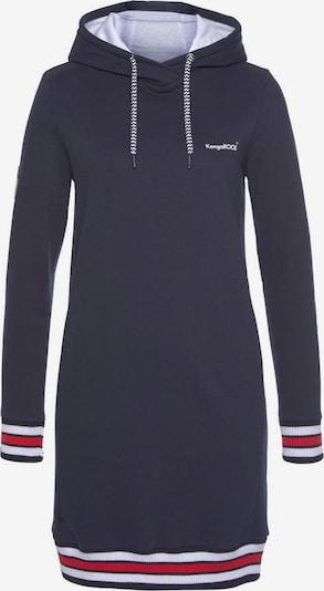 KangaROOS Sweatkleid in navy / mischfarben, Produktansicht