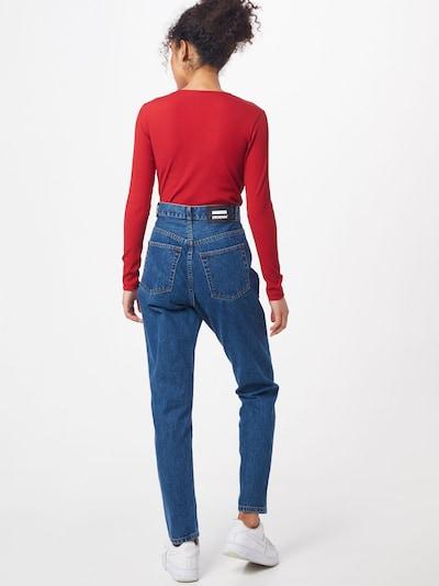 Dr. Denim Jeans 'Nora' i blå: Sedd bakifrån