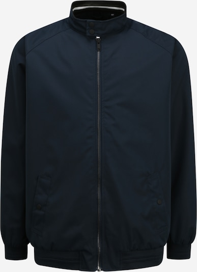 BURTON MENSWEAR LONDON (Big & Tall) Veste mi-saison 'HARRINGTON' en bleu marine, Vue avec produit