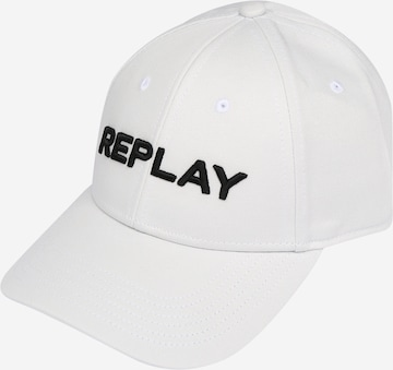 REPLAY Nokamüts, värv valge
