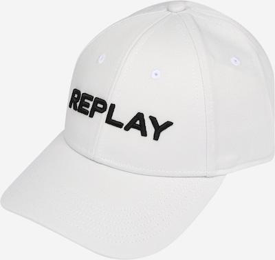 REPLAY Pet in de kleur Zwart / Wit, Productweergave