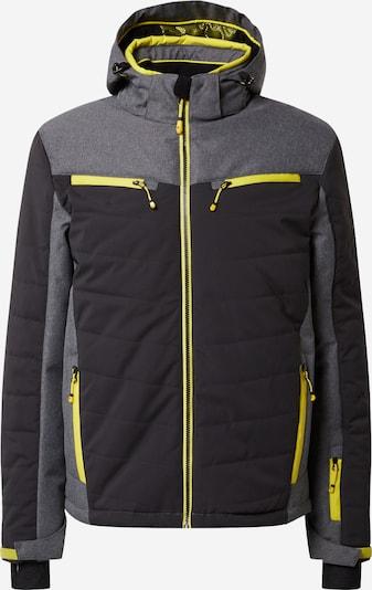 KILLTEC Sportska jakna 'Savognin' u antracit siva / siva melange, Pregled proizvoda