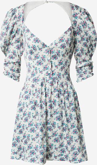 For Love & Lemons Robe en mélange de couleurs / blanc, Vue avec produit