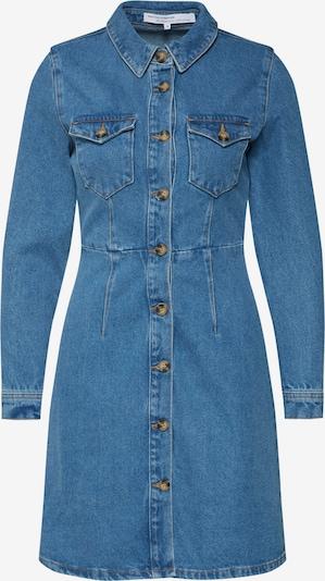 ABOUT YOU x Gizem Emre Robe-chemise 'Ayana' en bleu denim, Vue avec produit
