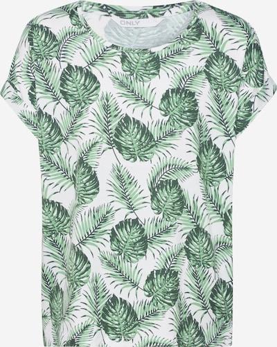 ONLY T-Krekls 'MOSTER' pieejami zāles zaļš / gandrīz balts, Preces skats