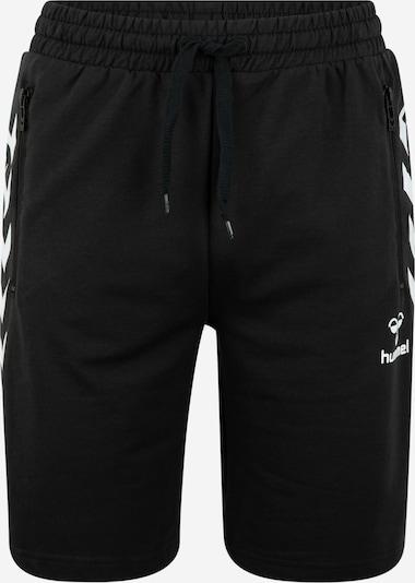 Hummel Sport-Shorts 'HMLRAY' in schwarz / weiß, Produktansicht