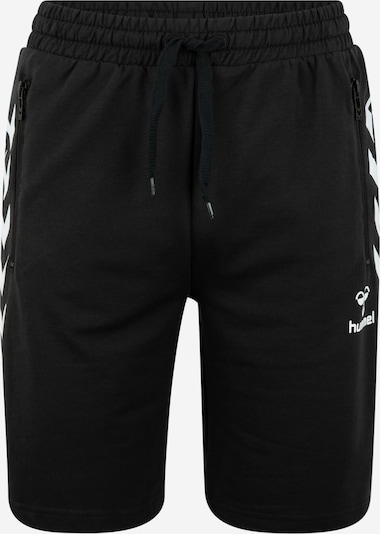 Hummel Pantalon de sport 'HMLRAY' en noir / blanc, Vue avec produit