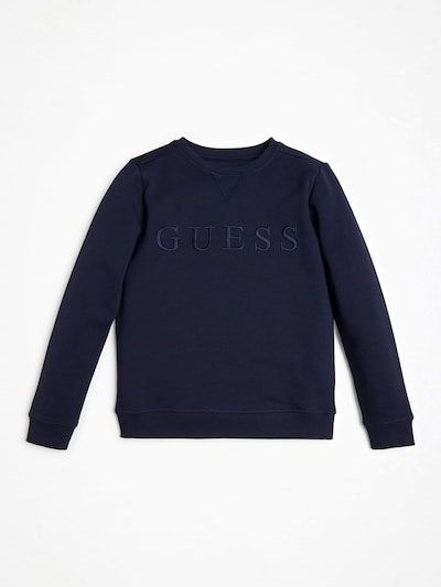 GUESS KIDS Sweater in dunkelblau: Frontalansicht