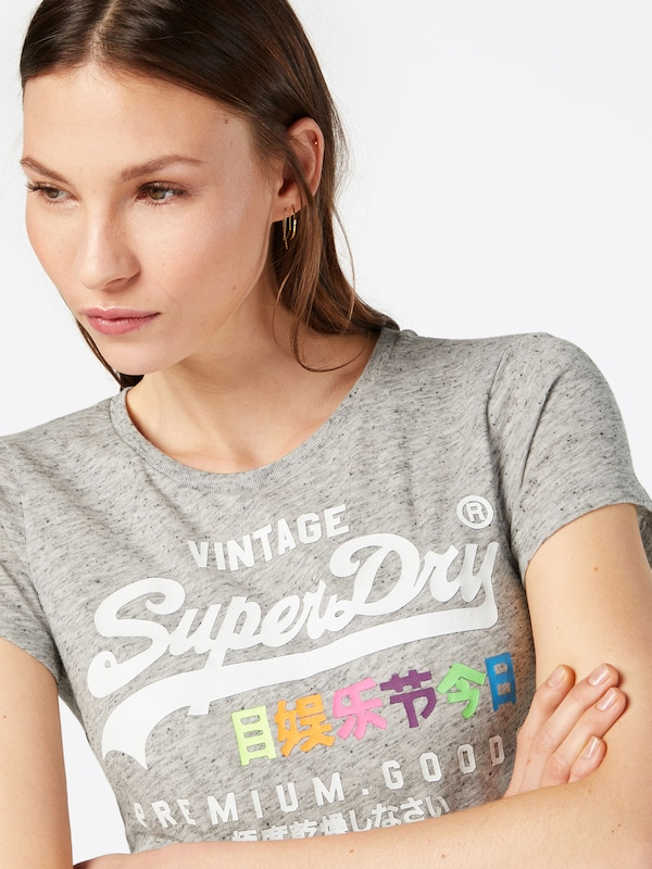 Superdry Shirt 'POP ENTRY'
